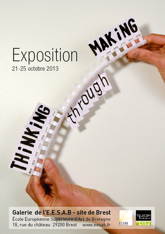 thinking expo affiche invit