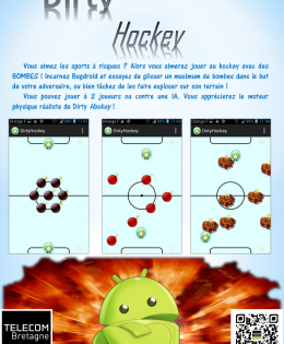 Dirty Hockey : un jeu Android original !