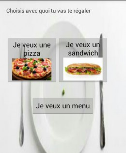 EasyFood, l'application