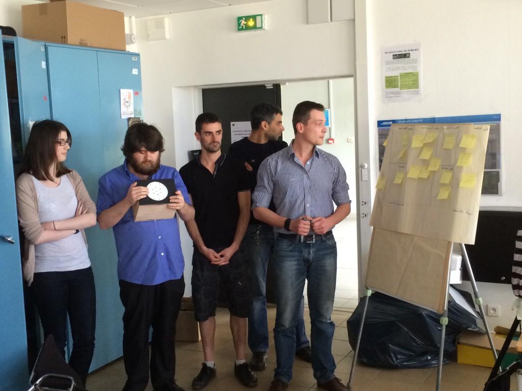 Startup day : équipe décibel
