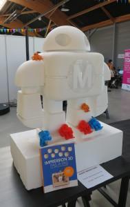 L'accueil de la Maker Faire St-Malo