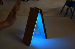 Docile, une lampe interactive