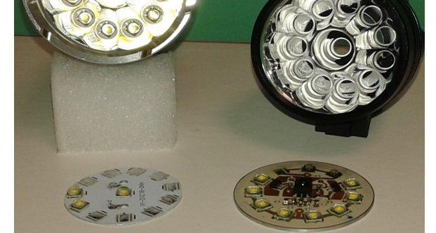Développement d'une lampe à messages et envoi de texto en Light Fidelity (LIFI)