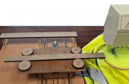 Réalisation d'une brodeuse numérique à partir d'une machine à coudre