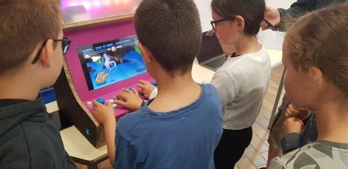 Développement d'une borne d'arcade