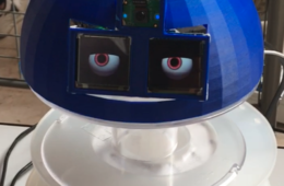 Développement d'une tête interactive avec Raspberry Pi 3