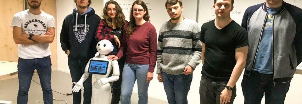 Robot Pepper – Hackathon ENSIBS 2020