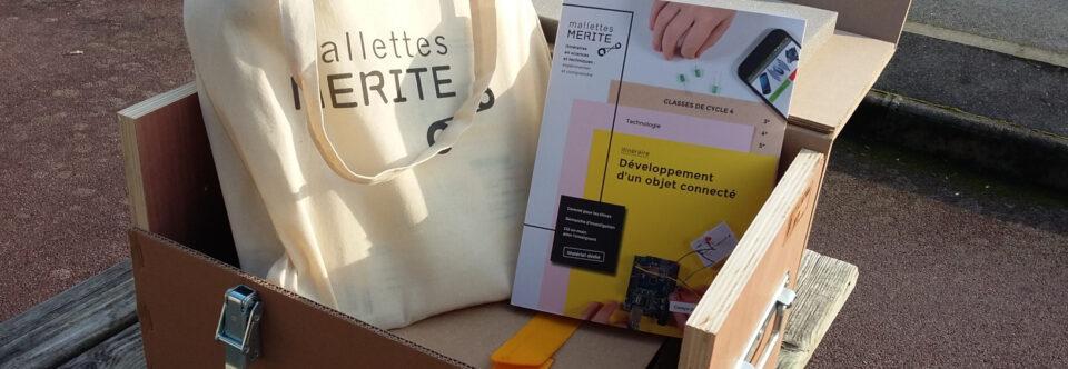 Les mallettes du projet MERITE arrivent…!