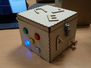 Photo de la puzzle box rendu final 2