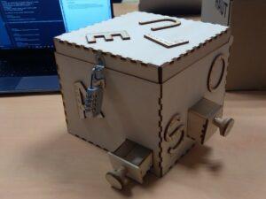 Photo de la puzzle box rendu final 1